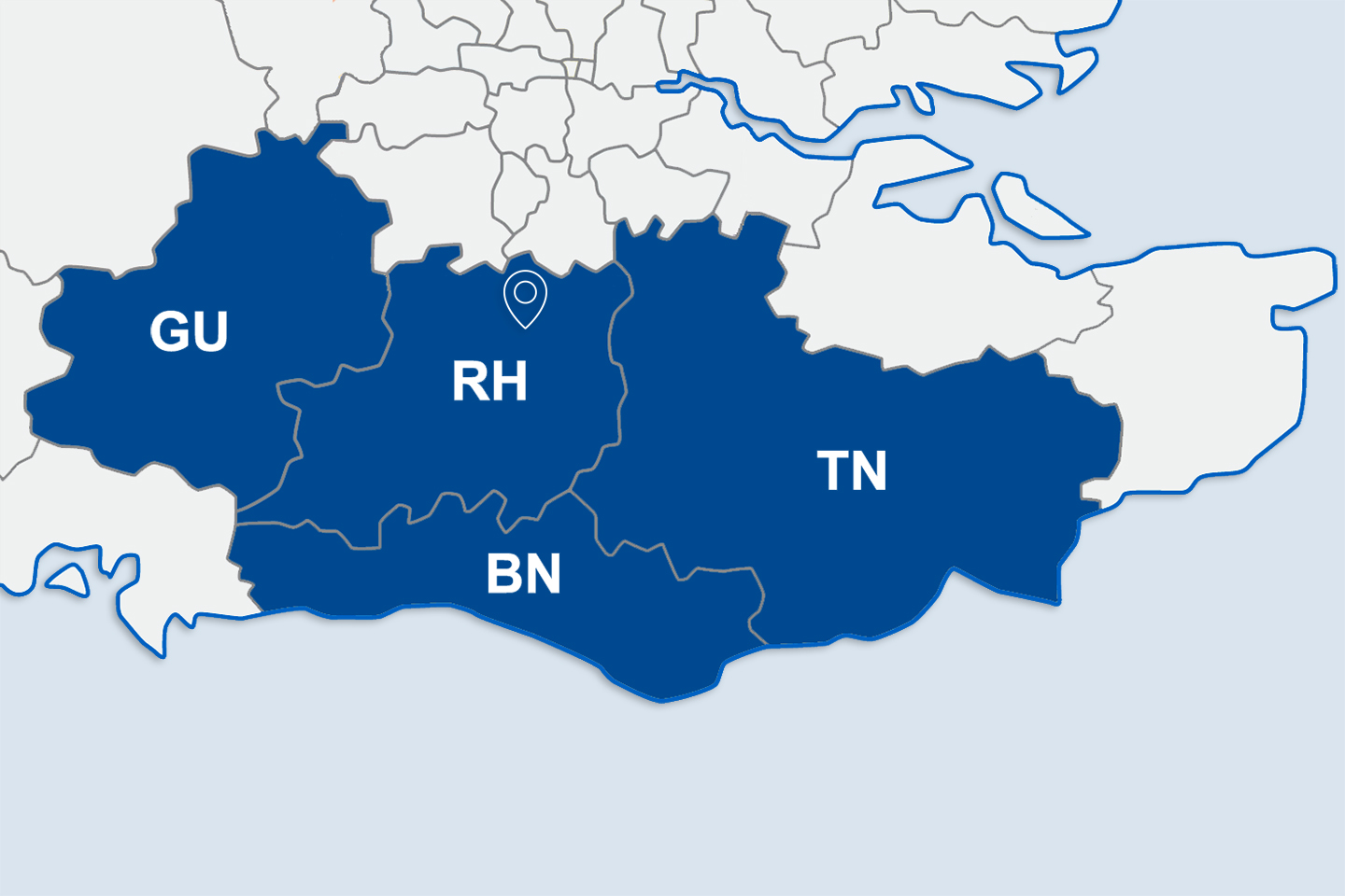A map showing the areas residents qualify for the Local Discount Scheme