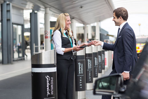 Premium Valet Parking at Gatwick Airport is as close as you can possibly park to the South Terminal