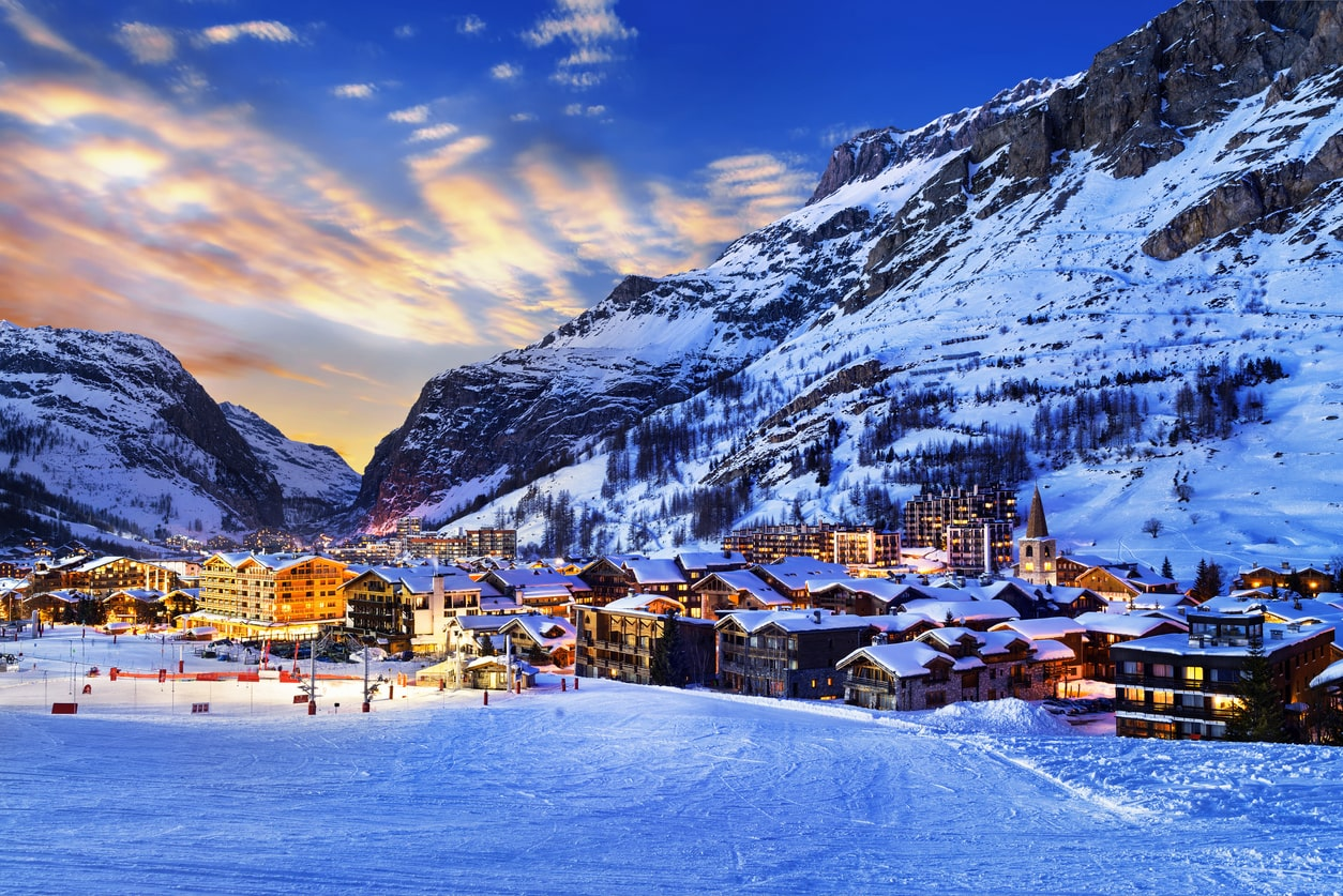 An alpine chalet village, Gatwick Airport's Valet Winter Special is perfect for those who have a winter retreat planned for a few months